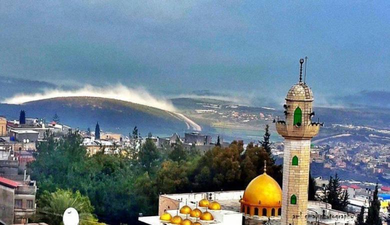 تعرض مسجدين لاطلاق نار وهجوم بالقنابل بالداخل المحتل