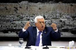الرئيس : لن ننتظر السلام الى الأبد ولا شيء اغلى من فلسطين