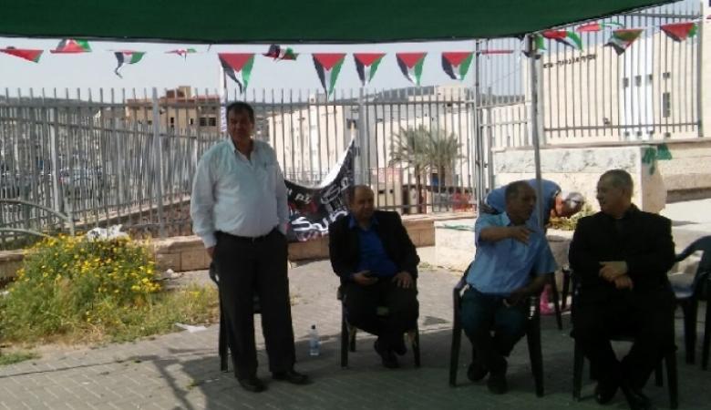 قيادات سياسية في الداخل الفلسطيني تضرب عن الطعام تضامنا مع الأسرى