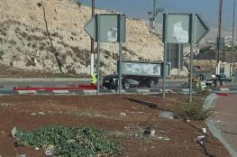 المستوطنون يغلقون مدخل بلدة العيزرية ببوابة حديدية