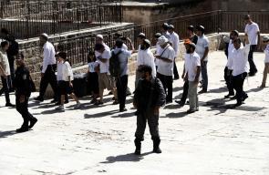 اكثر من الف مستوطن اقتحموا المسجد الاقصى