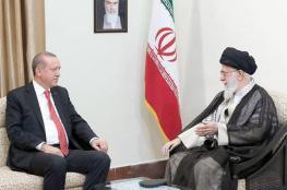خامنئي خلال لقاء مع اردوغان : الأكراد خونة
