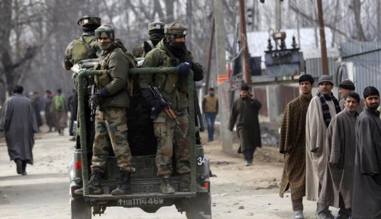 مقتل جندي هندي و4 مسلحين في اشتباكات مسلحة بأقليم كشمير