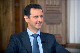 """الأسد للسوريين : """"تحرير حلب انتصار كبير """""""
