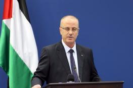 الحمد الله يدعو المجتمع الدولي للضغط على اسرائيل للاستجابة لمطالب الأسرى