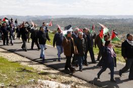 احياء الذكرى الـ12 لانطلاق المقاومة الشعبية في بلعين غرب رام الله