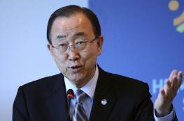 بان كي مون يعرب عن قلقه بشأن الانتخابات الرئاسية في بلاده