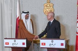 الرئيس التونسي يناقش مع أمير قطر الانتخابات في ليبيا