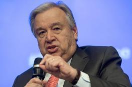 """الامين العام للامم المتحدة يدعو الأسد لضمان """"حقوق الإنسان"""""""