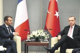 تركيا تهاجم فرنسا وتتهمها بدعم الارهابيين  الأكراد