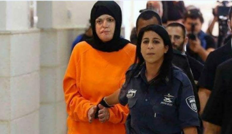 """محكمة الاحتلال تعقد غدا جلسة استئناف ضد الحكم الصادر بحق الأسيرة """" جعابيص """""""