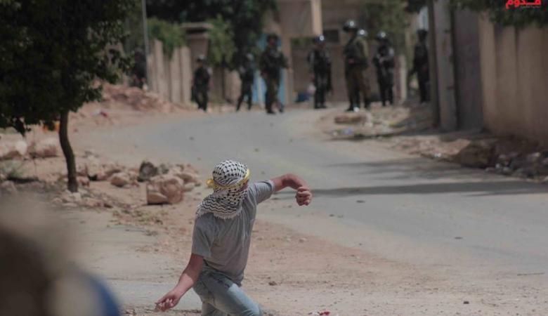 إصابة 9 مواطنين بينهم صحفي في كفر قدوم