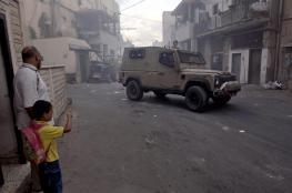 الاحتلال يقتحم مدينة جنين مساء اليوم