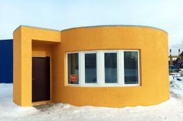طباعة منزل كامل عبر طابعة ثلاثية الأبعاد خلال 24 ساعة