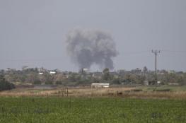 اصابة 3 مواطنين بقصف اسرائيلي على غزة