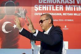 اردوغان : قيمة الرئيس الفرنسي ترتفع عندما يكلم رئيس تركيا