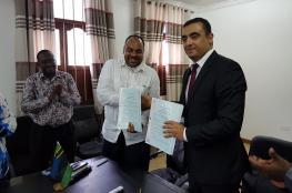 توقيع اتفاق تعاون في المجال الطبي بين فلسطين وزنجبار