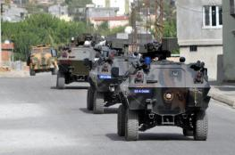 تركيا تدفع برتل عسكري جديد الى سوريا