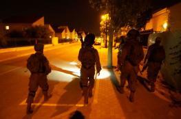 الاحتلال يشن حملة اعتقالات في مخيم نور شمس بطولكرم