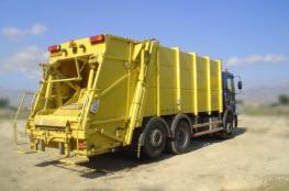 الاحتلال يستولي على سيارة لجمع النفايات بطوباس
