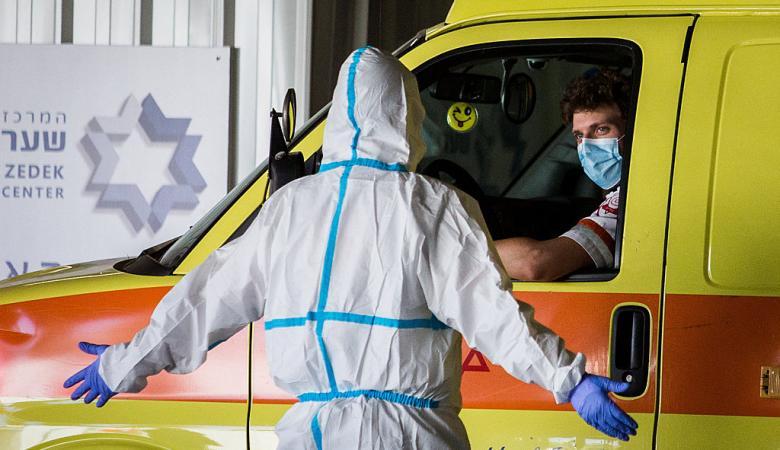 """إصابات """"كورونا"""" في إسرائيل تتجاوز حاجز الـ110 آلاف"""