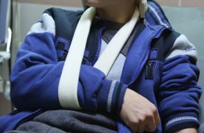 قوات الاحتلال تفرج عن الطفل الفلسطيني فوزي الجنيدي