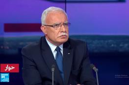 وزير الخارجية : لن تقع ثورات في فلسطين على غرار الدول العربية