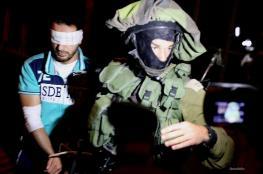 جنين: الاحتلال يعتقل 7 مواطنين بينهم والد شهيد