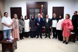 الرئيس يستقبل وفدا من وزارة التربية والتعليم الكويتية