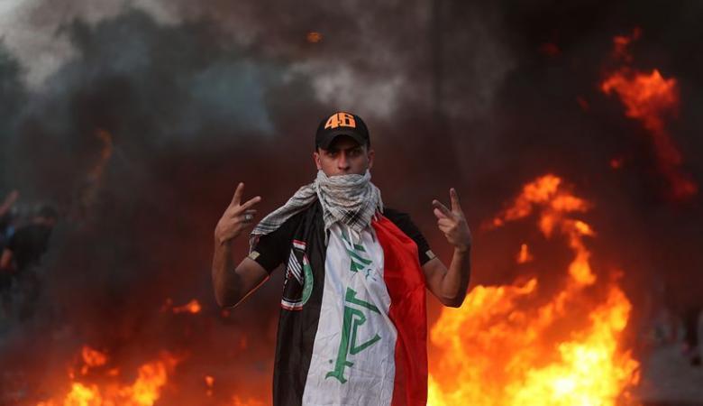 عشرات القتلى والجرحى بمظاهرات في العراق