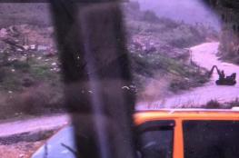 الاحتلال يعثر على عبوتين ناسفتين في محطة انتظار للمستوطنين قرب نابلس