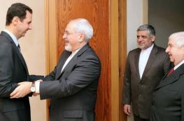 وزير الخارجية الايراني  يوضح علاقة بشار الأسد بقرار استقالته