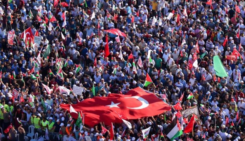 """تركيا تهاجم """"اسرائيل """" وتؤكد ان فلسطين ملك للشعب الفلسطيني"""