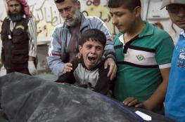 مقتل اكثر من 20 مدنيا سوريا بقصف عنيف على ادلب