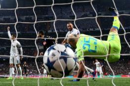 لهذا السبب رفع رونالدو يده بعد هدف بنزيمة