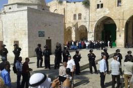 36 مستوطنا يقتحمون المسجد الأقصى