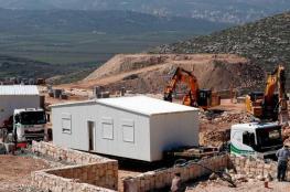 الاحتلال يبدأ ببناء أول مستوطنة بالضفة منذ 25 عاما