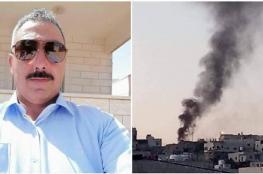 """حرق  منازل ومركبة جنوب الخليل في اعقاب جريمة مقتل المواطن """"ابو زهرة """""""