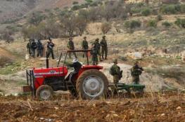 الاحتلال يخطر بالاستيلاء على مئات الدونمات من اراضي بيت لحم