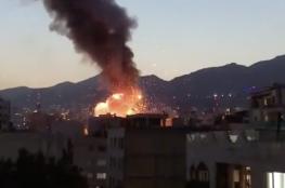ايران : قتلى بانفجار خزانات بمركز طبي شمال طهران