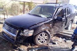 عشرات القتلى وآلاف المصابين في حوادث سير بالضفة الغربية