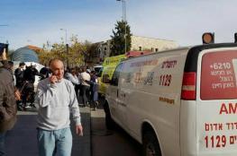 اصابة جندي اسرائيلي بجراح خطيرة بعملية طعن في القدس