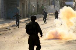 اصابات في مواجهات مع الاحتلال شمال الخليل