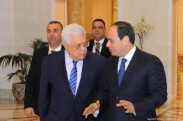السيسي يؤكد للرئيس موقف مصر الثابت من القضية الفلسطينية