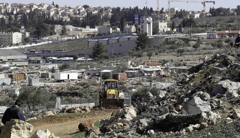 بلدية الاحتلال توافق على خطة لإقامة مجمع تشغيل استيطاني على مساحة 90 دونما شرق القدس