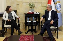 اشتية يطالب بضغط دولي لضمان عقد الانتخابات في القدس