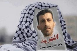 """الاحتلال يعتدي على الأسير المضرب عن الطعام منذ """"62"""" يوما سامي الجنازرة"""