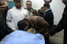 """الاحتلال بسلم جثمان الشهيد """" مؤيد الجبارين """" من بلدة سعير شرق الخليل"""