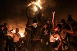 استئناف فعاليات الارباك الليلي على حدود غزة