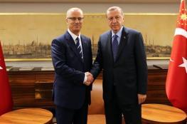 الحمد الله يبحث مع أردوغان اخر التطورات وسبل دعم القدس